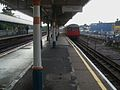 Plaistow station bay platform look west with C Stock.JPG