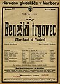 Plakat za predstavo Beneški trgovec v Narodnem gledališču v Mariboru 16. aprila 1926.jpg