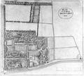 Plan van het landgoed Cromvliet in Rijswijk door Mensing 1810.png