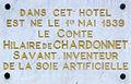 Plaque d'Hilaire de Chardonnet - Besançon.JPG