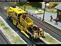 Plasser & Theurer USP 2000 SWS DB Bahnbau Kibri 16060 Modelismo Ferroviario Model Trains Modelleisenbahn modelisme ferroviaire ferromodelismo (14151014922).jpg