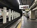 Platform of Kosoku-Nagata Station 2.jpg