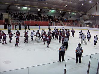 McConnell Arena - Image: Playoff Brampton Montreal 002