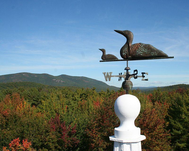 View of Pleasant Mountain - Denmark, Maine
