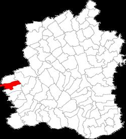 Vị trí của Plopii Slavitesti