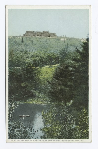 File:Pocono Manor Inn from Lake Minausin, Pocono Manor, PA (NYPL b12647398-79547).tiff
