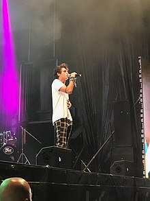 Pol Granch a l'espectacles Los40 Summer Live.jpg