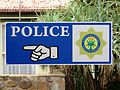 Police sign South Africa 02.JPG