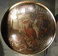 Polidoro da caravaggio e maturino da firenze, rotella di gala con la presa di una città, forse conquista di pesaro, 1525-1550 ca 01.JPG