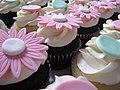 Polka Dot Baptism Cupcakes (3226502079).jpg