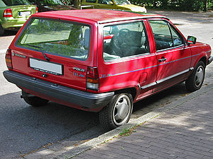 "Volkswagen Polo - Mark II Polo ""Wagon"" shape"