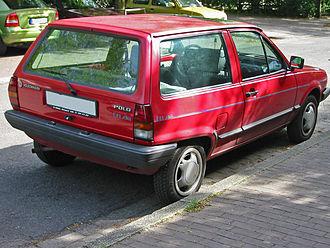 "Volkswagen Polo - Mark II Polo ""Wagon"" shape"