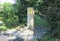 Pomník Františka Antonína Bernarda v centru Starých Křečan (Q104983705) 01.jpg
