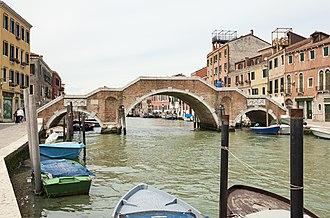 Andrea Tirali - Image: Ponte dei Tre Archi (Venice)