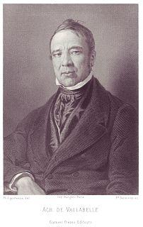 Achille Tenaille de Vaulabelle French politician and journalist