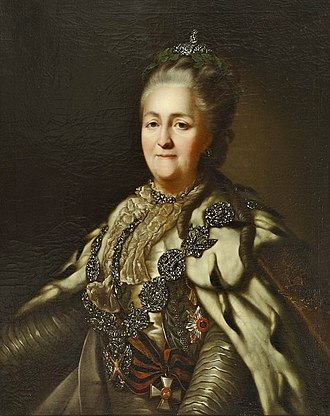 Catherine the Great - Image: Portrait of Empress Catherine II(a)