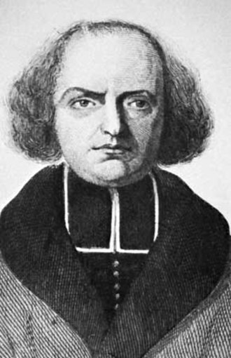 Jacques Paul Migne - Jacques-Paul Migne, engraving by E. Tailland