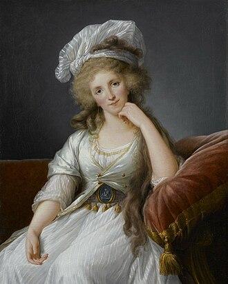 Louise Marie Adélaïde de Bourbon, Duchess of Orléans - Portrait by Élisabeth-Louise Vigée-Le Brun