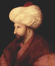 Portrait of Mehmed II by Gentile Bellini (Cropped)