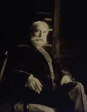 John MacAlister - portrait photo courtesy of Wellcome Trust