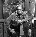 Portrait of painter Elden Rowland at his studio in Sarasota, Florida.jpg