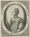 Portret van Elisabeth van Valois Portretten van koningen, koninginnen, prinsen en prinsessen (serietitel), RP-P-1888-A-12854.jpg