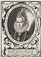 Portret van Isabella Clara Eugenia, infante van Spanje Portretten van regeerders van de Nederlanden (serietitel), RP-P-OB-67.092.jpg