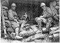 Poste de mitrailleuse dans une tranchée italienne - Médiathèque de l'architecture et du patrimoine - AP62T104606.jpg
