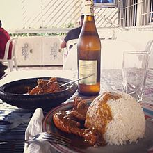 poulet arachide recette afrique