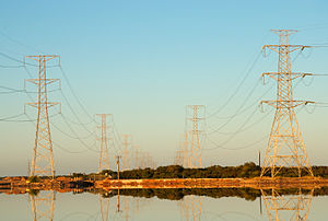 Energy policy of Australia - Power lines in South Australia
