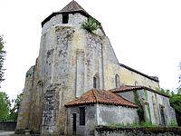 Préchac-sur-Adour - Église Saint-Jean-Baptiste -1.JPG