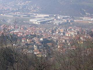 Pradalunga Comune in Lombardy, Italy