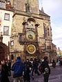 Prag Rathaus Astronomische Uhr 1.JPG