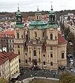 Praga Staré Město - Igrexa de San Nicolas - Iglesia de San Nicolas - Church of Saint Nicholas - Kostel svatého Mikuláše - 01.jpg