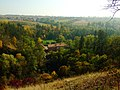 Praha, Stodůlky, pohled na Nový Mlýn v prokopském údolí.jpg