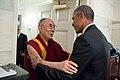 President Barack Obama greets His Holiness the Dalai Lama (27591124962).jpg