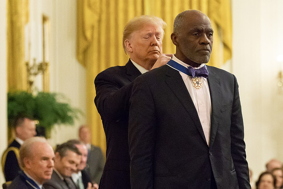 President Donald J. Trump Presents Medal of Freedom to Alan Page - 45863434012