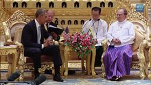 ဖိုင်:President Obama Meets with the President of Burma.webm