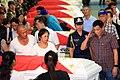 President Rodrigo R. Duterte salutes a soldier slain in an Abu Sayyaf encounter in Sulu 03.jpg