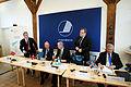 Presskonferens med utrikesministrarna under Nordiska Radets session 2011 i Kopenhamn (6).jpg