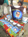 Printed T-shirt having print of B R Ambedkar.png