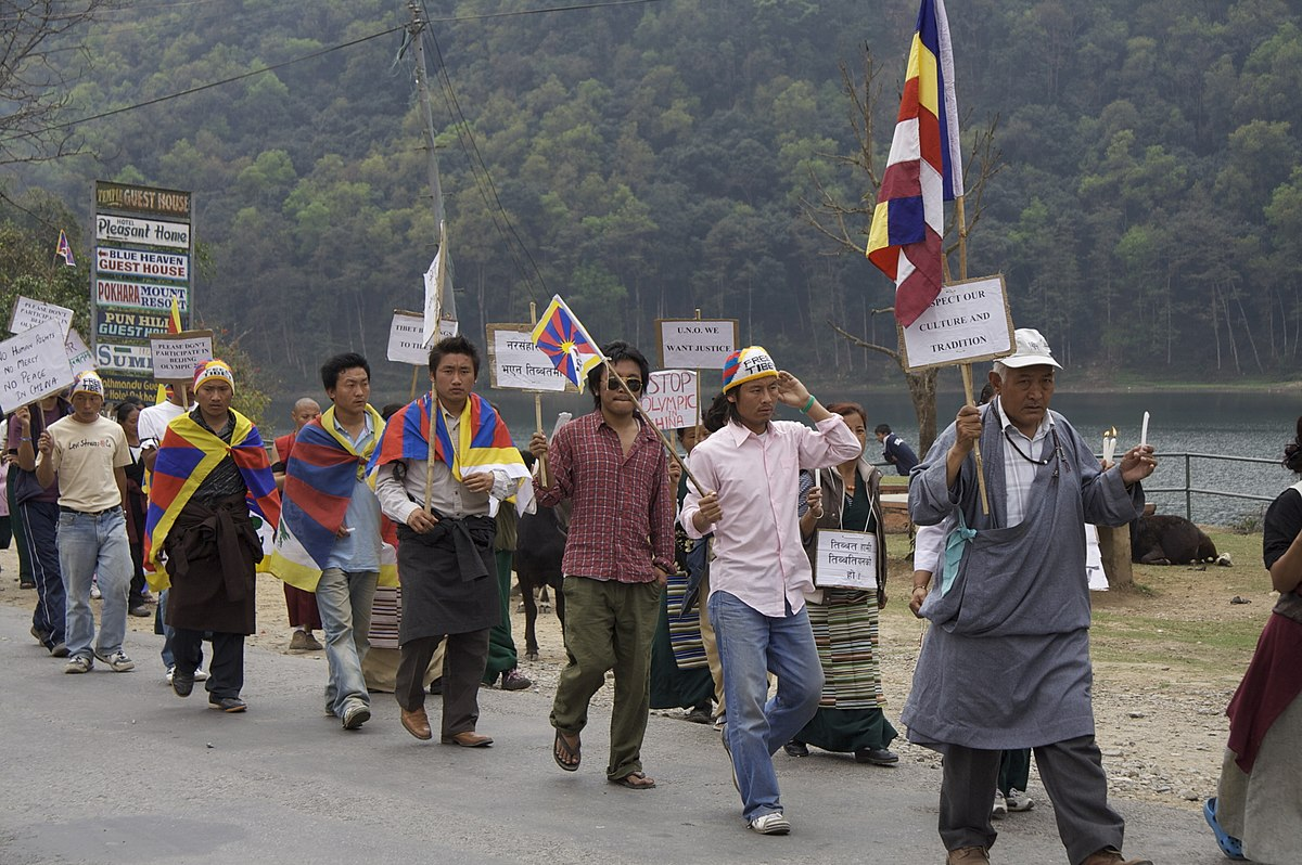 Not Non Violence >> International reactions to 2008 Tibetan unrest - Wikipedia