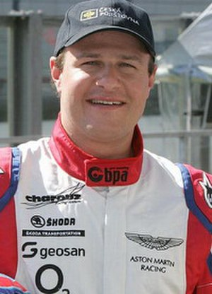 Doping in auto racing - Tomáš Enge
