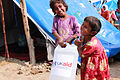 Providing hygiene kits to families as they return home (5331075382).jpg
