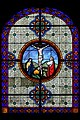 Provins - église Saint-Ayoul - vitrail bas-côté nord 3e travée.jpg