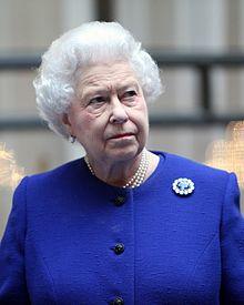 Elisabeta a II-a în decembrie 2012