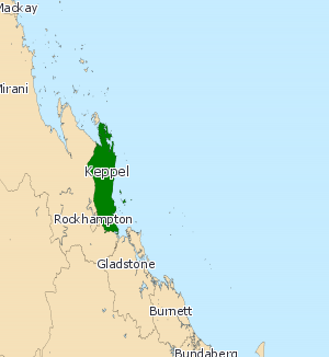 Electoral district of Keppel - Electoral map of Keppel 2008