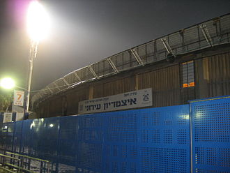 Kiryat Eliezer Stadium - Outside the stadium