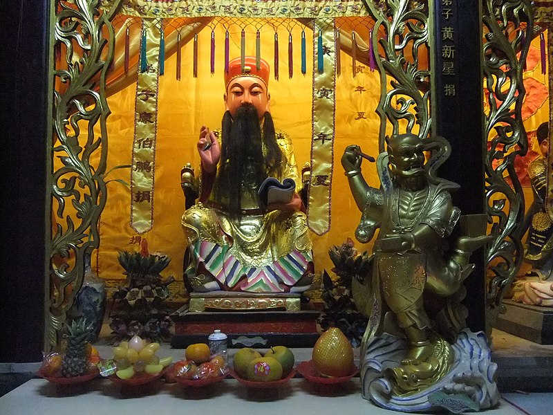 Quanshan Tudi Gong Gong - statues - DSCF8317.JPG