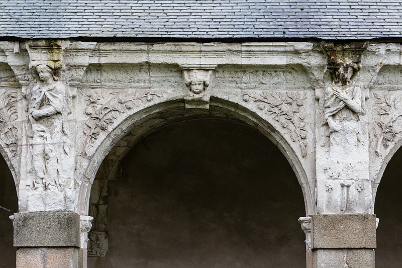 file quari me arcade de la galerie ouest du clo tre de l 39 ancienne abbaye saint melaine rennes. Black Bedroom Furniture Sets. Home Design Ideas